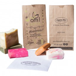 Paper bags for packaging soap