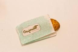 Bagel and Donut Bags - White Custom Printed