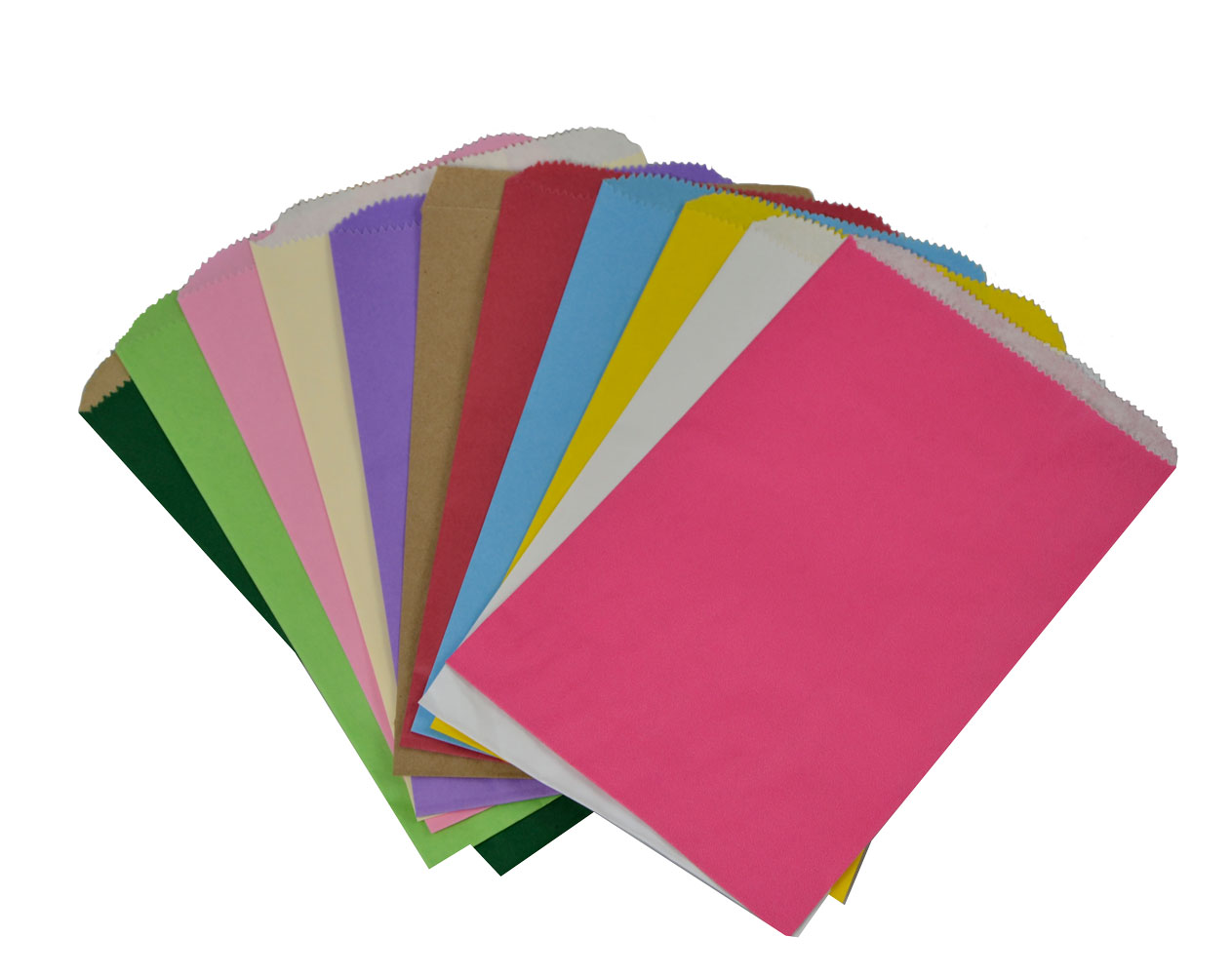 colorful paper bags
