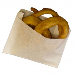 Concession supplies onion ring bag