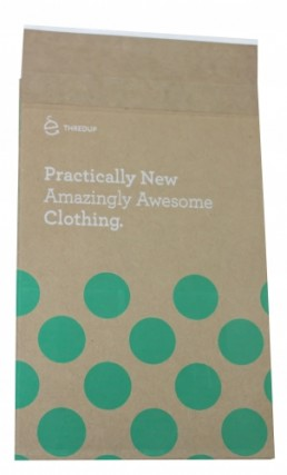 Eco-Natural Shipping Bag - Custom Printed