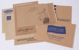 Eco-Natural Shipping Bags - Custom Printed Fan