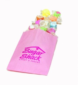 Gourmet Bag - Petal Pink Custom Printed Candy Bag