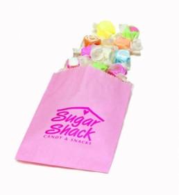 Gourmet Bag - Petal Pink Custom Printed Candy Bag