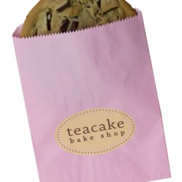 Gourmet Bag - Petal Pink Custom Printed Cookie Bag