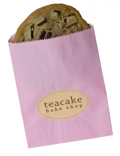 Gourmet Bag Petal Pink Custom Printed Cookie