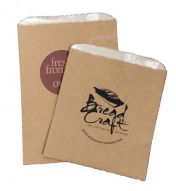 Gourmet Bags - Natural Custom Printed Fan