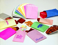 Gourmet Bags - Plain and Printed Fan Colors