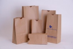 Hardware Bags - Custom Printed and Stock Unprinted Fan