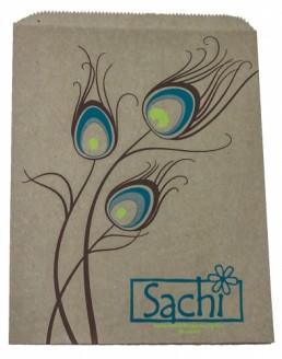 Merchandise Bag - Custom Printed Natural 2