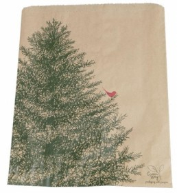 Merchandise Bag - Custom Printed Natural 4