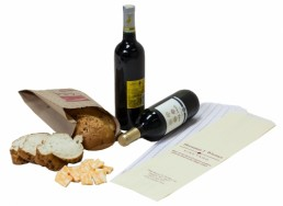 Merchandise Bag - Custom Printed White Wine Bread