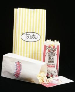 SOS Bags - White Custom Printed Popcorn 2