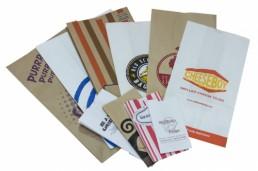 SOS Bags - White Natural Custom Printed Fan