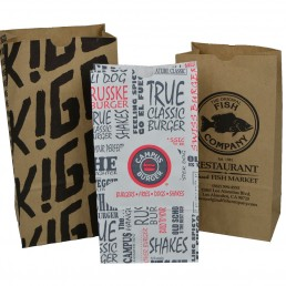 Paper lunch (SOS) bags