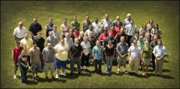 Group photo of WCI staff