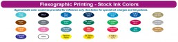 WCI Stock Ink Colors