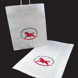 Small quantity printed paper bags