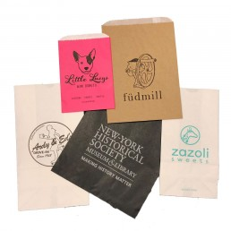 Printed retail and food service bags