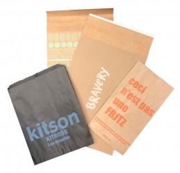Printed retail paper bags