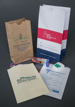 Custom Printed Bags for Dentist Office