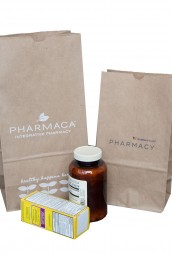 100% Recycled Prescription Bags