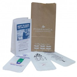 Custom Printed Pharmacy Paper Bags