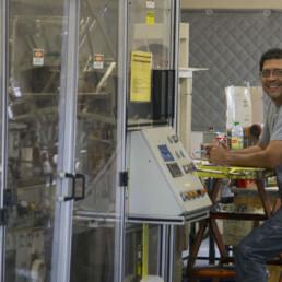 Sergio Orozco - WCI Machine Operator