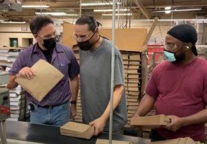 WCI production team members machine operators