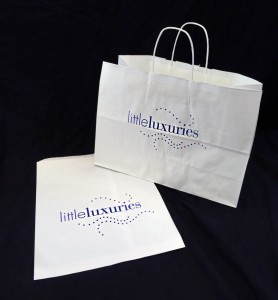 Printed Merchandise and Handled Shopping Bags
