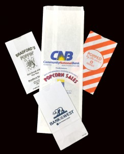 Bag: Custom printed popcorn bags from WCI