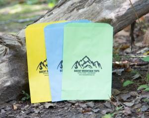 Colorful Printed Paper Bags