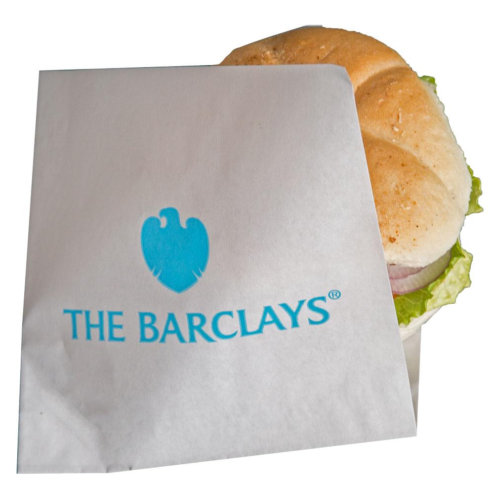 open side sandwich burger bag